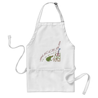 Success is a path aprons