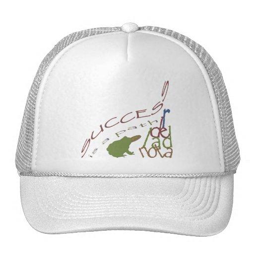 Success is a path mesh hats