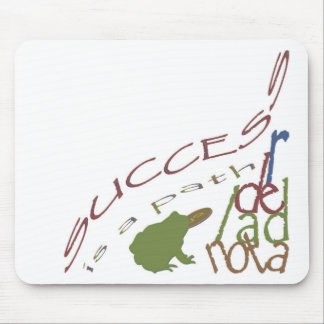 Success is a path mouse pad