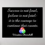 Success is not final - Poster art