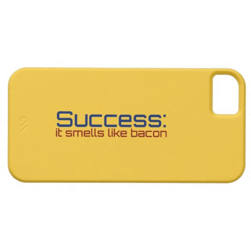 Success: It Smells Like Bacon iPhone 5 Cover