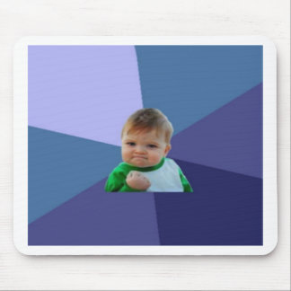 Success kid mouse pad