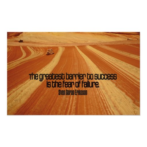 Success Motivational Quote Poster Print