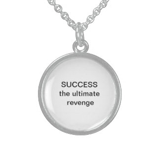 success personalized necklace