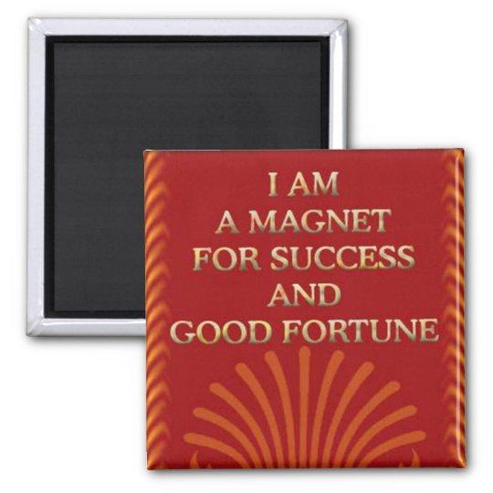 Success-Self affirmation statement Magnet
