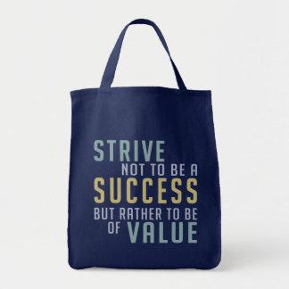 Success & Value Motivational bags