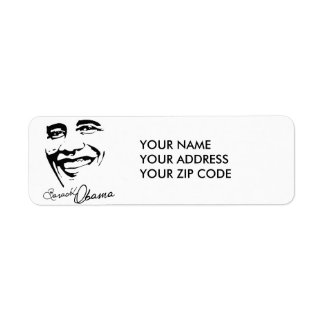 SUCCESS WITH OBAMA -.png Return Address Label