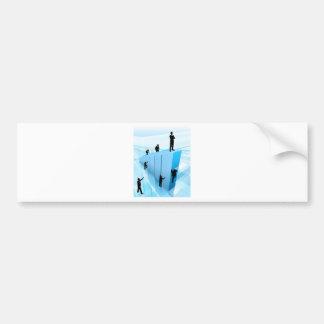 Successful Business Person Competing Concept Bumper Sticker
