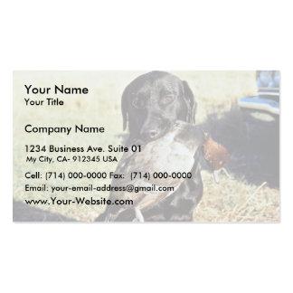 Successful Hunt Business Card Templates