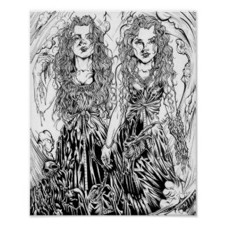 Succubus Twins Poster