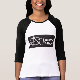 Succulent Anarchy Women's Baseball Shirt