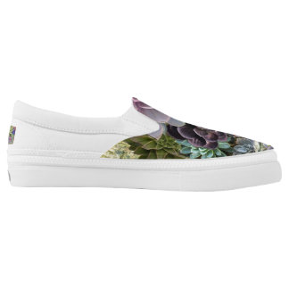 Succulent display Slip-On shoes