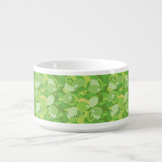 Succulent Green Small Soup Bowl With Handle