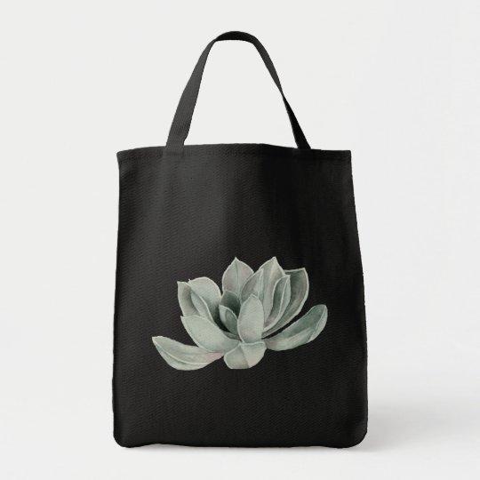 Succulent Plant Watercolor Painting