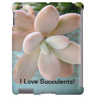 Succulent Sedum Pink Jelly Bean Plant iPad Case