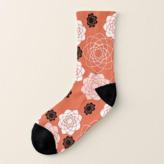 Succulent Symmetry Terracotta Socks 1