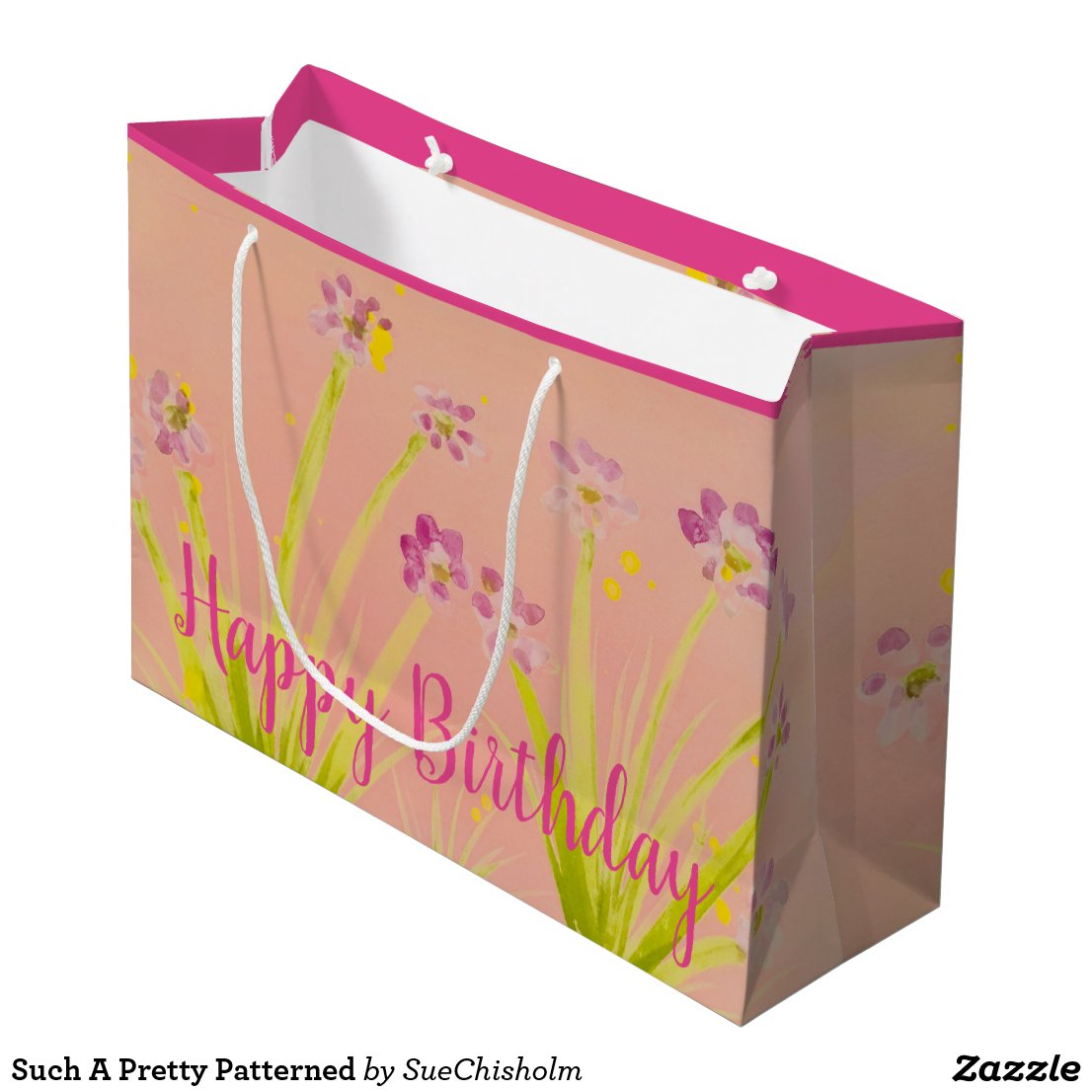 Such A Pretty Patterned Large Gift Bag