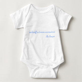 Such Stuff from The Tempest Baby Bodysuit
