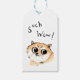 Such Wow! Doge Meme Gift Tags