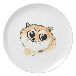 Such Wow! Doge Meme Plate