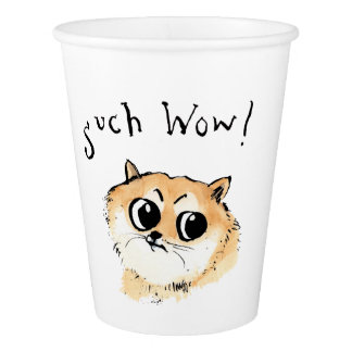 Such Wow Doge! Paper Cup