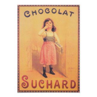 Suchard Chocolate - 1923 Poster