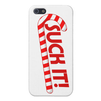 Suck the Christmas Candy Cane iPhone 5 Cases