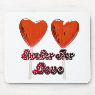 sucker for love mouse pads