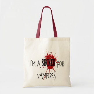 Sucker For Vampires - Budget Tote