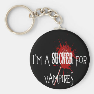 Sucker For Vampires - Keychain