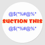 Suction This Stickers