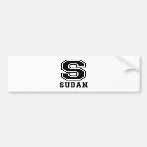 Sudan Designs Bumper Sticker