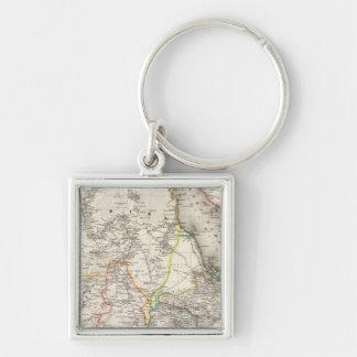 Sudan, Ethiopia Key Ring