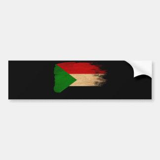 Sudan Flag Bumper Stickers