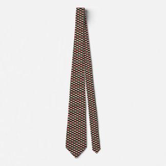 Sudan Flag Honeycomb Tie