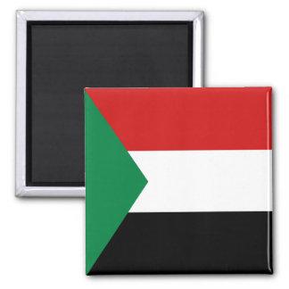 Sudan Flag Magnet