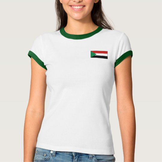 Sudan Flag + Map T-Shirt