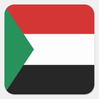 Sudan Flag Sticker