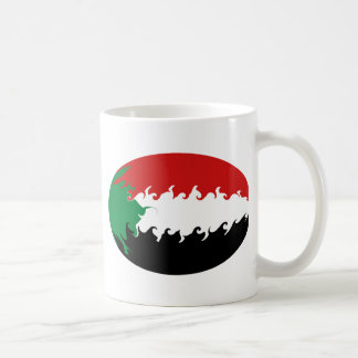 Sudan Gnarly Flag Mug