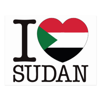 Sudan Love v2 Postcards