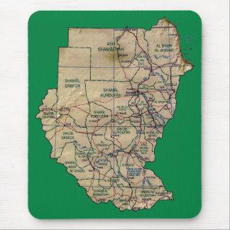 Sudan Map Mousepad
