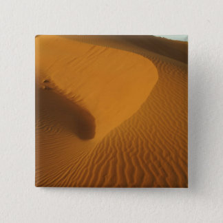 Sudan, North (Nubia), dunes in the desert 15 Cm Square Badge
