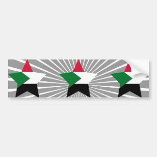 Sudan Star Bumper Stickers