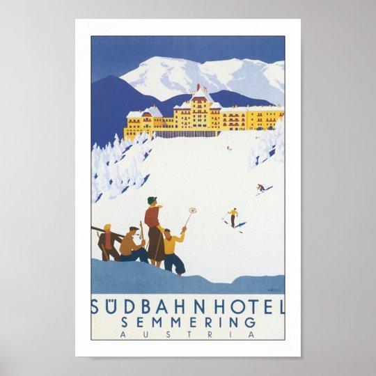 Sudbahn Hotel - Semmering Poster