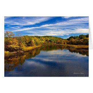 Sudbury River: Concord, MA Card