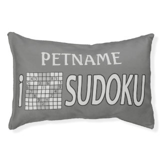 SUDOKU custom dog beds