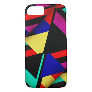 Suede Sails! Bold Abstract Color pattern iPhone 7 Case