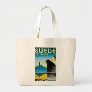 Suede via Londres Jumbo Tote Bag