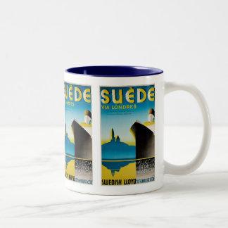 Suede via Londres Mugs