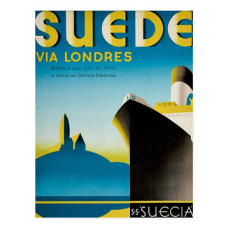 Suede via Londres Postcard